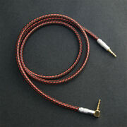 High Quality 3.5mm Aux Auxiliary Audio Cable For Headphones Car Home Stereo Red