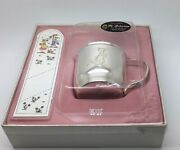 Eik Solv - Plett Norway Silver Plate Baby Girl Cup Hans And Grete Baby Shower