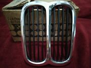 New Old Stock Genuine Bmw 2002 E10 Kidney Center Grill Late Model 1974-1976