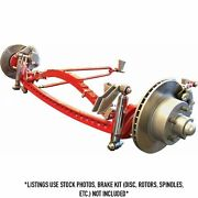 1928 - 1931 Ford Model A Deluxe Hair Pin Drilled Solid Axle Kit No Brakes Vpa