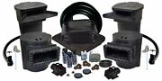 Savio Ultimate Pond Kit W/ Uv 40and039 X 50and039 Pvc Liner And Aeration-tgpvcus8