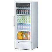 Turbo Air Tgm-12sd-n6 25 One Section Merchandiser Refrigerator With Glass Do...