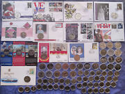Uk And British Territory Andpound2 Pound Coins Rare And Commemorative Circulated To Unc