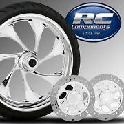 Harley Davidson Drifter Wheel Tire And Rotor Package By Rc Components