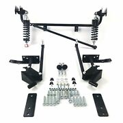 1968-74 Nova Chevy Ii Specific Adjustable Rear 4-link Kit W/ Coilovers 5.7l 307