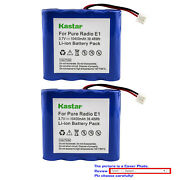 Kastar Replacement Battery For Pure E1 And Pure Vl-60924 Evokee-1s Evoke 1s 2s