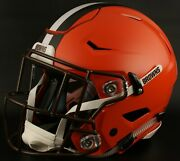 Cleveland Browns Nfl Authentic Gameday Football Helmet W/ Sf-2eg-sw Facemask