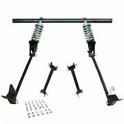 Triangulated Rear 4-link W/ Coilovers 35 1935 Ford Model 51 Pickup - Truck