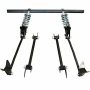 Triangulated Rear 4-link W/ Coilovers 40 1940 Ford Coupe Club Standard Deluxe
