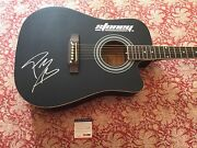 Post Malone Autographed Signed Guitar Psa Dna Authentication