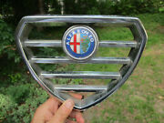 Vintage 1970and039s Alfa Romeo Alfetta Gt 1.8 Type 116 Gtv 2000 Grille And Emblem