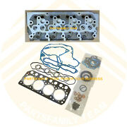 S4l Engine Cylinder Head For Mitsubishi Farmtrac 390hst Tractor With S4l Diesel