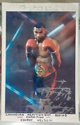 Conroy Nelson Signed Photograph Gifted To Burt Reynolds | Reynolds Estate