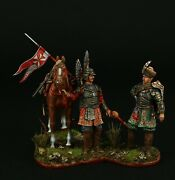 Tin Soldier Museum Top Polish Winged Hussars Xvii C. 54 Mm