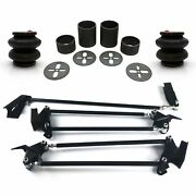 Parallel 4 Link/2600 Bags Weld On Kit For 67-79 Ford Truck Fits Coilovers Airbag
