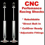 1997 - 2001 Ford Truck Pickup F150 Front Performance Shocks - Pair Front Parts