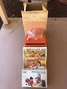 Vintage Tupperware Mini Party Set Childrens Toy Serving Set In Box