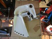 Evinrude Johnson Outboard 0388035 And 0388034 Stern Bracket Clamps 10hp 15hp