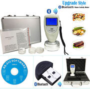 Food Water Activity Meter Analyzer Monitor With Bluetooth Data Adapter