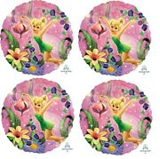 4 X 18 Tinkerbell Faries Foil Mylar Balloon Party Supply Decoration