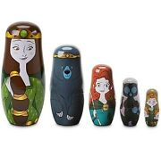 Disney Sold Out Brand New Pixar Brave Nesting Dolls Limited Edition Of 2500