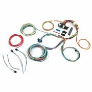 Ultimate 15 Fuse 12v Conversion Wiring Harness 37 1937 Ford Coupe Hot Street