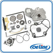 Fit 02-08 Chevrolet Hhr Pontiac G5 Timing Chain Kit Cover Gasket Water Oil Pump