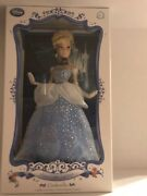 Disney Store Limited Cinderella Collector Doll Only5000 Limited Edition