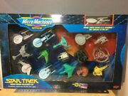 Star Trek Micro Machine Space Limited Collector's Galoob Ncc-1701-a Other Used