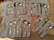 Grace By Orla Vagn Mogensen Sterling Silver Flatware 3 1/2 Placesettings