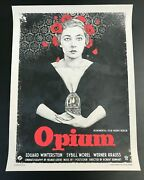 Vices Opium Pittides Print Poster Ist Ed
