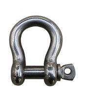 Marine 3/8andrdquo Us Type Bow Shackle For Boat Chain 4400 Pounds 316 Stainless Steel