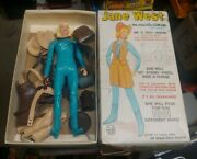 Marx Jane West With Box And Accessories