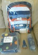 Pottery Barn Solar System Large Backpack + Lunch Box + Water Bottle Space + Bag