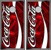 Coca Cola 0274 Cornhole Board Vinyl Wraps Stickers Posters Decals Skins Gift
