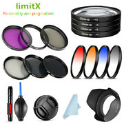 40.5mm Bundle Kit Filter Lens Hood Cap Cleaning Pen Air Blower For Sony Camera