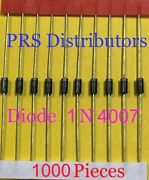 Diode 1n4007 1 Amp 1000 Volts 1n 4007 Diode N4007 Diode 1000 Pieces