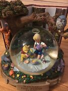 Large Winnie The Pooh Snowglobe A A Milne Only 1 On Ebay See Pics Book Very Rare