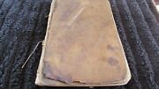 Very Rare 1860and039s A.w. Keddie Field Notes From Mt. Diablo California Survey