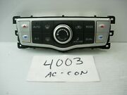 10 11 12 13 14 Nissan Murano Ac And Heater Control Used Stock 4003-ac