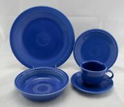 Fiestaware Sapphire Limited Edition 5-pc. Place Setting Produced Only In 1996