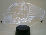 Volvo 3d Acrylic Tractor Trailer Light With Extras