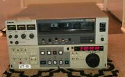 Sony Bvu-950 U-matic Professional Video Cassette Recorder Player Editor = As Is
