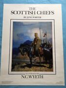 The Scottish Chiefs Promotional Poster - N.c. Wyeth Illustration