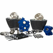 Sands Gear Drive 124 Big Bore Power Package Kit Black Harley M8 Water-cooled