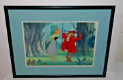 Sleeping Beauty Cel Disney Once Upon A Dream Animation Art Edition Cell