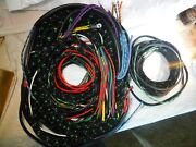 Complete British Made Wiring Harness Kit For Jaguar Mark 4 Dhc Or Saloon Lhd
