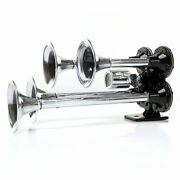 Habanero 4 Trumpet High Output Train Horn With Valve Trigger Horns Trgh166