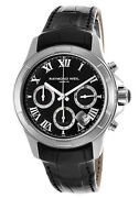 Raymond Weil Parsifal Automatic Chronograph Date Menand039s Watch 7260-stc-00208 New
