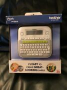 Brother P-touch Pt-d210 Label Maker Labeler - Lcd Display - Brand New